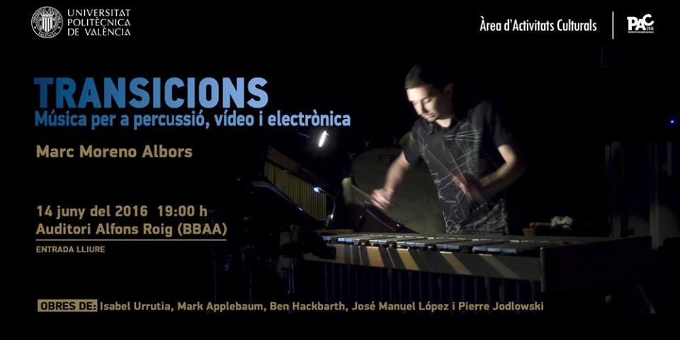 Concierto Transicions UPV'16